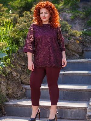 Комплект: блуза и леггинсы | 5564651