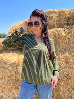 Блуза в полоску | 5564705