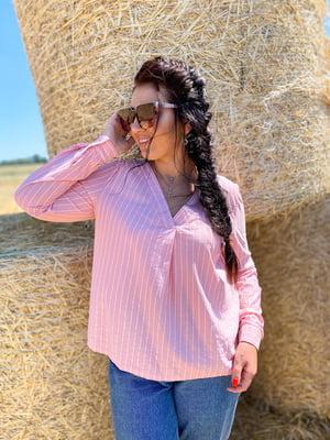 Блуза в смужку | 5564706