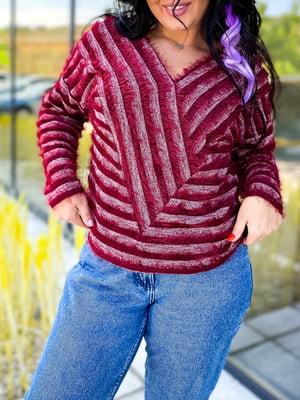 Пуловер в смужку | 5564727