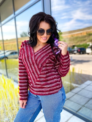 Пуловер в полоску | 5564730