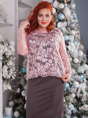 Комплект: сукня і блуза | 5564741