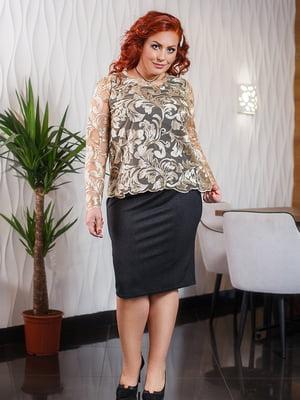 Комплект: сукня і блуза | 5564742