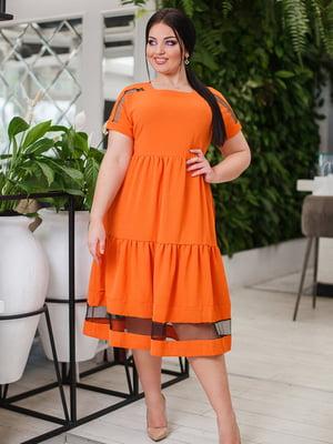 Платье терракотовое   5564765