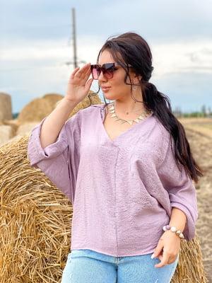 Блуза блідо-лілового кольору | 5564822