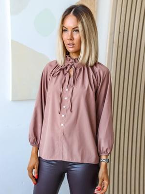 Блуза кольору мокко   5564852