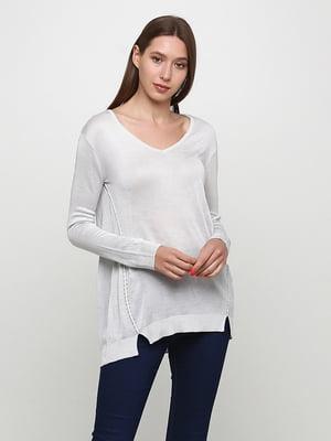 Пуловер светло-серый | 5565372