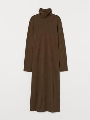 Платье цвета хаки | 5565816