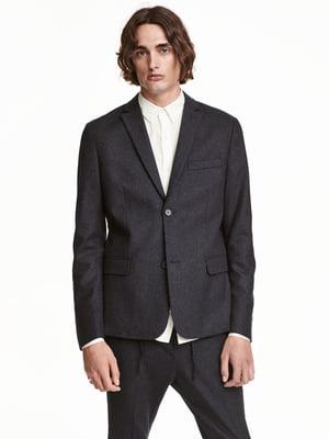 Пиджак темно-серый | 5565929