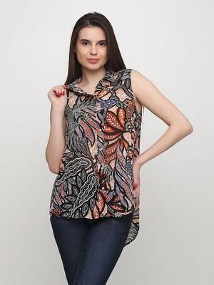Блуза в принт | 5566096