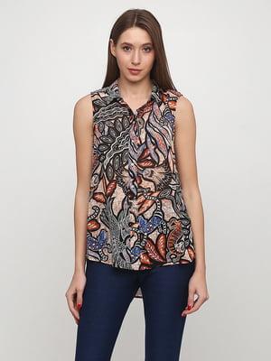 Блуза в принт | 5566114