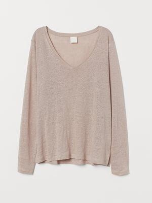Пуловер бежевый | 5566508