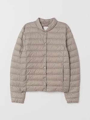Куртка бледно-серый | 5566633