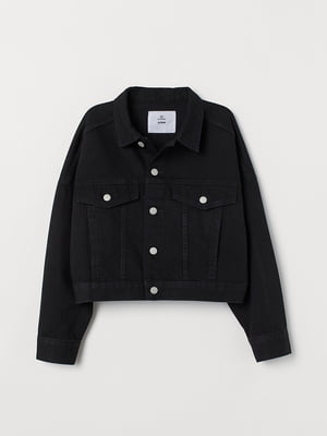 Джинсова Куртка чорна | 5566821