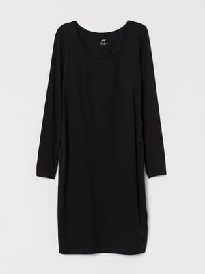Платье для беременных черное | 5566827