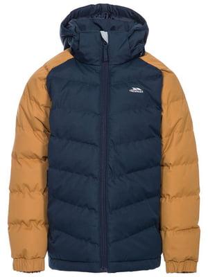 Куртка сине-коричневая | 5315846