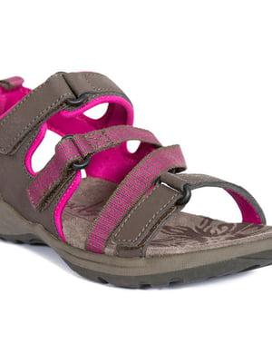 Сандалі сіро-рожеві | 5460204