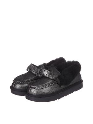 Ботинки черно-серебристого цвета | 5489501