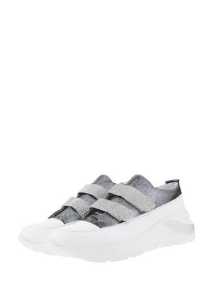 Кросівки біло-сірі | 5500683