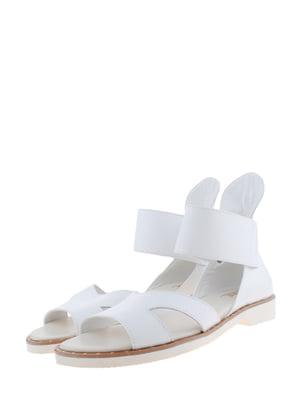 Сандалии белые | 5526213