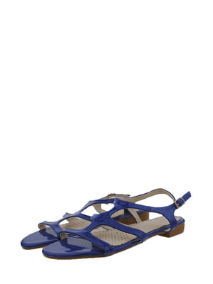 Сандалии синие | 5534574