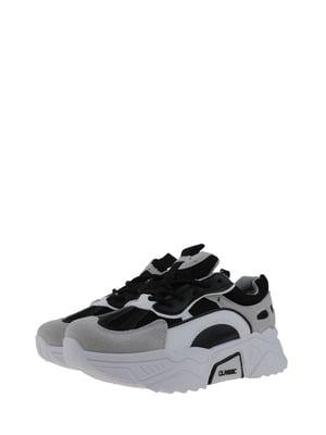 Кроссовки черно-белые | 5535869