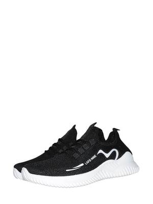 Кроссовки черно-белые | 5535873