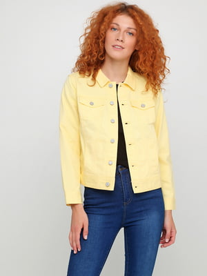 Куртка желтая | 5567112