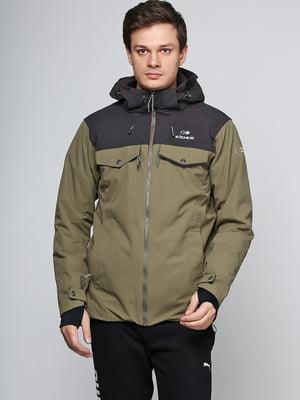 Куртка цвета хаки | 5567136