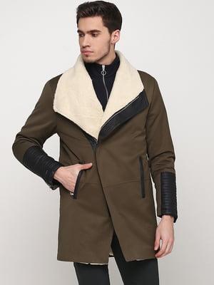 Пальто цвета хаки | 5567175