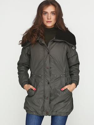 Куртка цвета хаки | 5567194