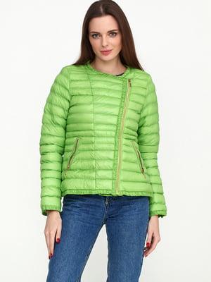 Куртка зелена | 5567218