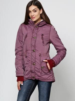 Куртка бордовая | 5567244