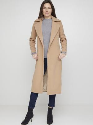 Пальто бежевое   5567260