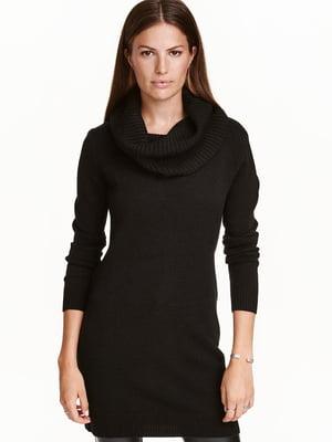 Платье-туника черное | 5567716