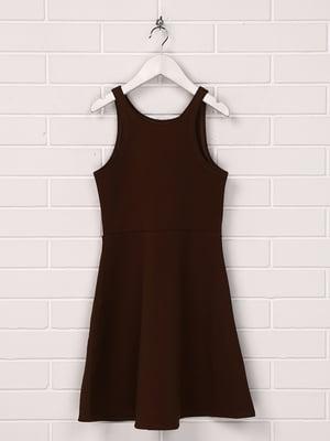 Платье темно-коричневое | 5567727