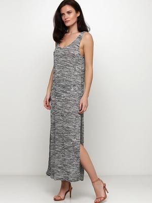 Сукня кольору сірий меланж | 5567766