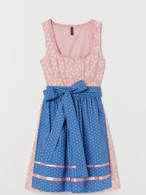 Комплект: сукня і фартух | 5567834