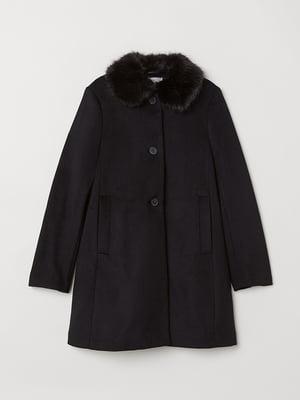 Пальто чорне | 5567896
