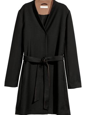 Пальто черное | 5567919