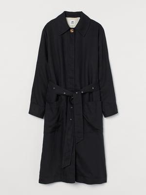 Пальто чорне | 5567924