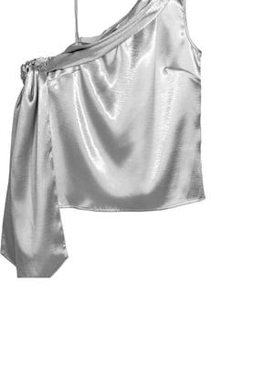 Блуза серебристого цвета   5568042
