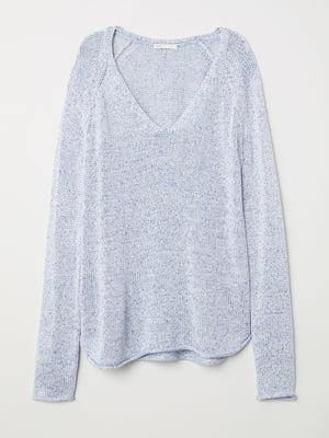 Пуловер голубой   5568392