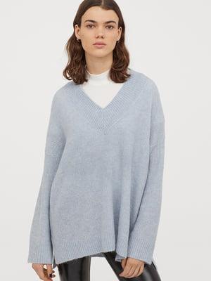 Пуловер голубой   5568475