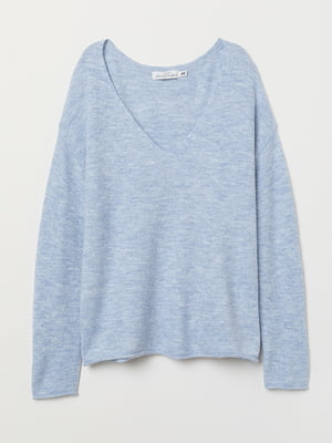 Пуловер голубой   5568476