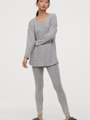 Пуловер серый | 5568495