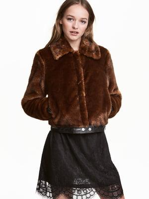 Куртка коричнева | 5568526