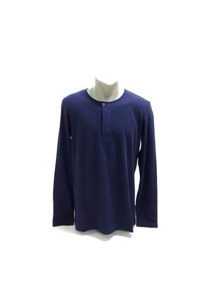 Лонгслів синій | 5568580