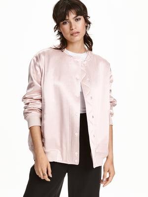Бомбер розовый   5568714