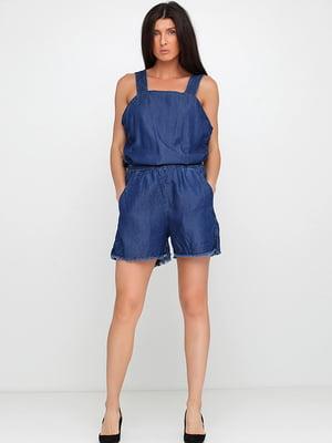 Комбинезон синий джинсовый   5568783